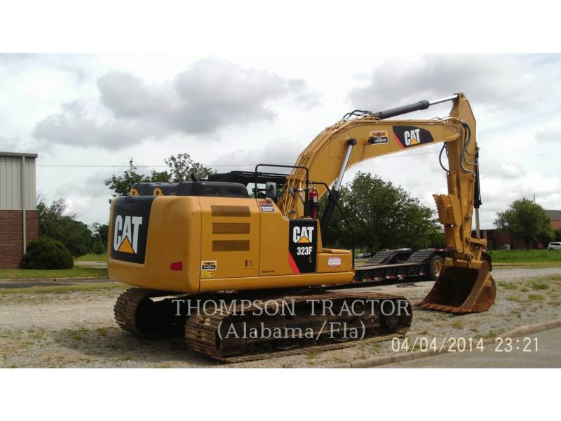 CATERPILLAR EXCAVADORAS DE CADENAS 323FL equipment  photo 11