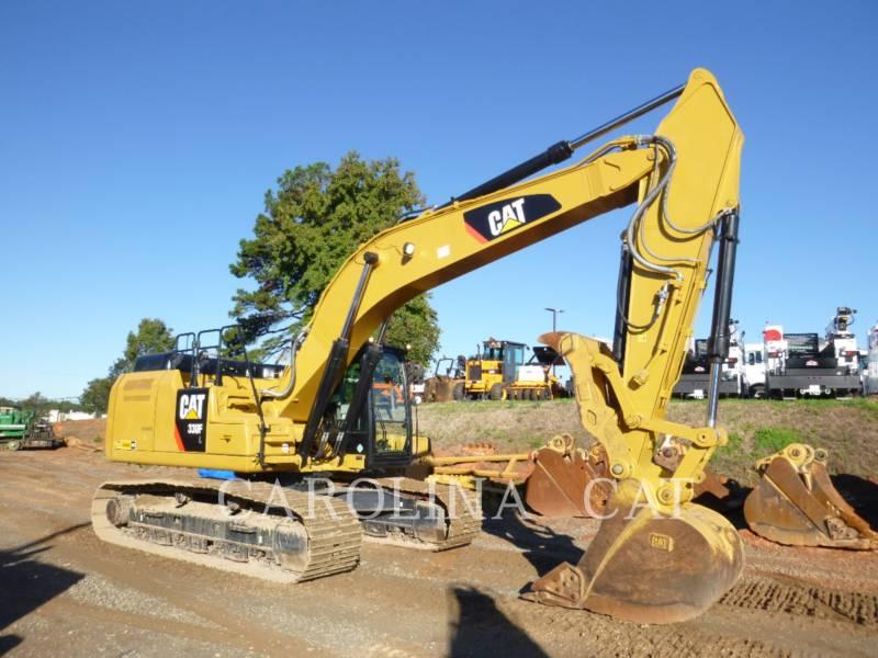CATERPILLAR TRACK EXCAVATORS 330F TH equipment  photo 8