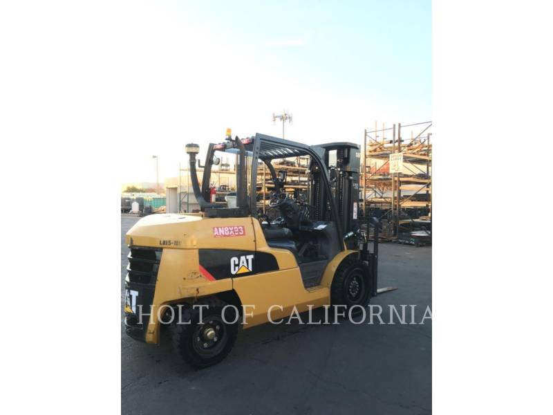 CATERPILLAR MITSUBISHI FORKLIFTS DP50CN equipment  photo 3