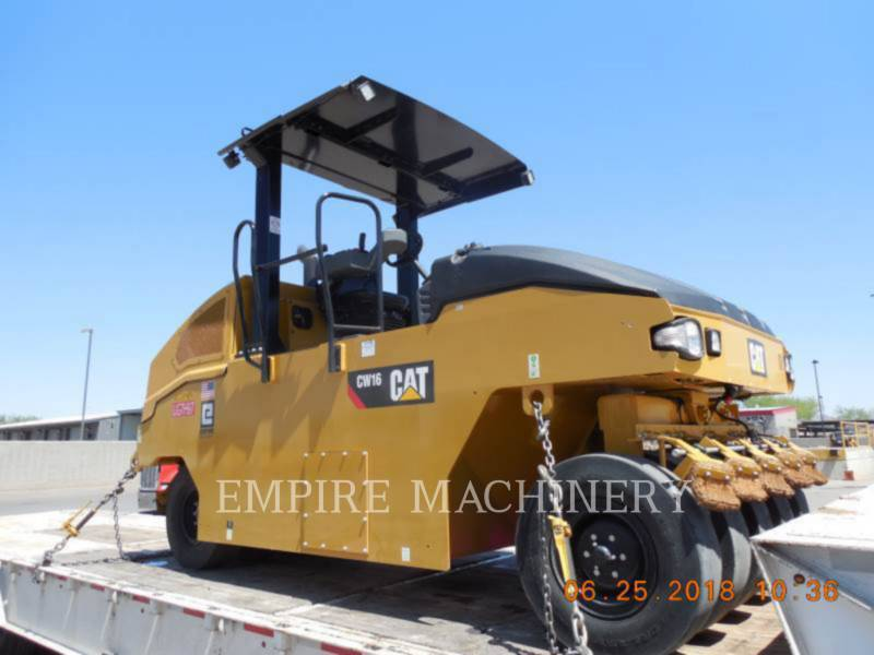 CATERPILLAR PNEUMATIC TIRED COMPACTORS CW16 equipment  photo 1