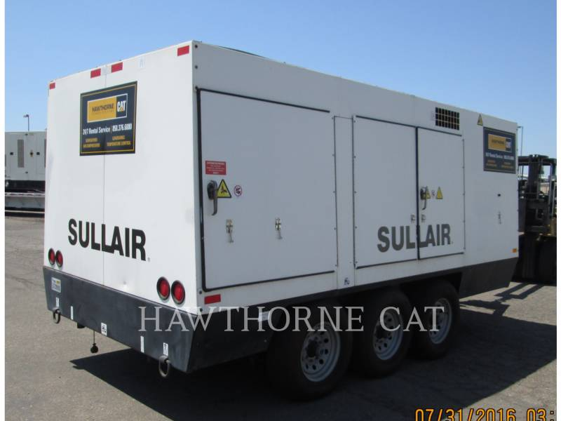 SULLAIR エア・コンプレッサ 1600HAF DTQ-CA3 equipment  photo 3