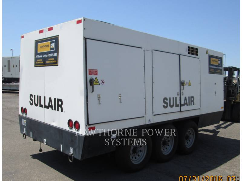SULLAIR COMPRESSOR DE AR 1600HAF DTQ-CA3 equipment  photo 3