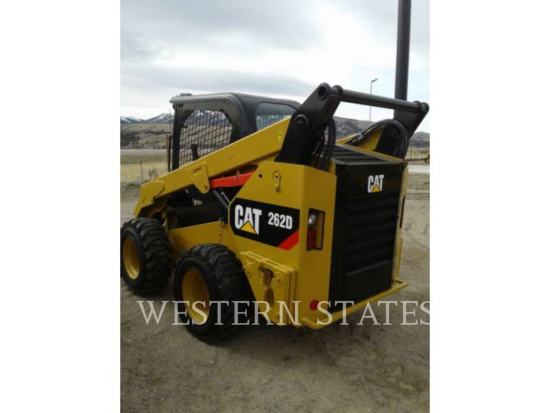 CATERPILLAR CHARGEURS COMPACTS RIGIDES 262 D equipment  photo 3