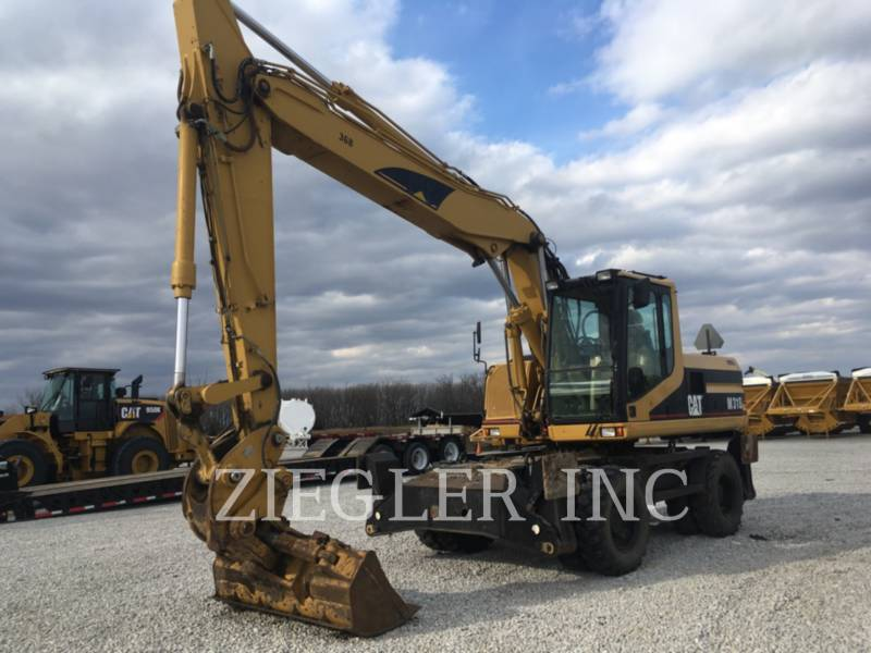 CATERPILLAR PELLES SUR PNEUS M318 equipment  photo 1