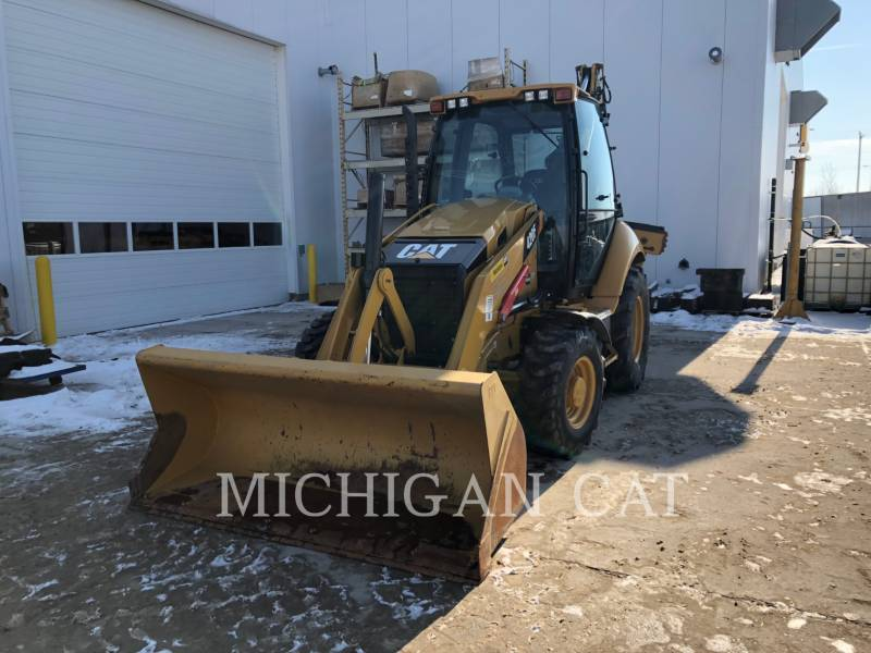CATERPILLAR CHARGEUSES-PELLETEUSES 420F AR equipment  photo 2