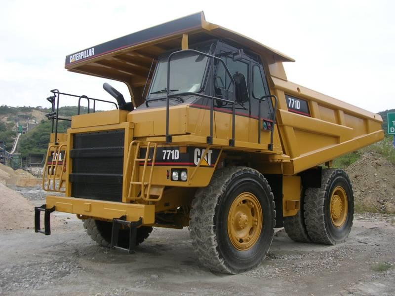 CATERPILLAR ダンプ・トラック 771D equipment  photo 2