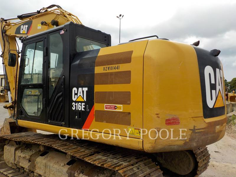CATERPILLAR トラック油圧ショベル 316E L equipment  photo 8