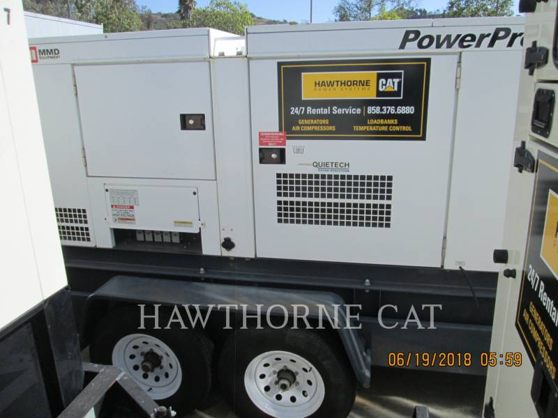 AIRMAN PORTABLE GENERATOR SETS (OBS) SDG150S equipment  photo 1