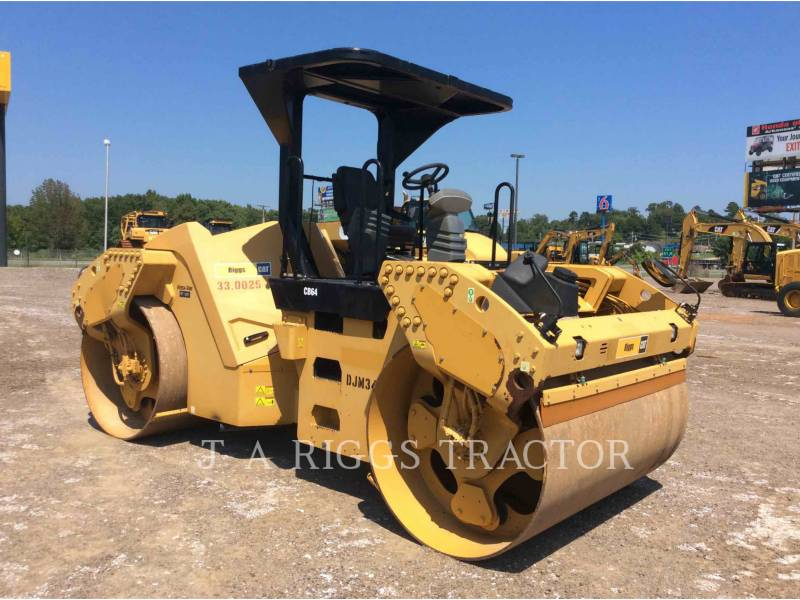 CATERPILLAR TANDEMOWY WALEC WIBRACYJNY DO ASFALTU (STAL-STAL) CB64 equipment  photo 9