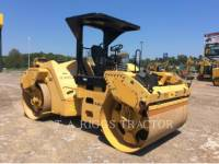 CATERPILLAR TRILLENDE DUBBELE TROMMELASFALTEERMACHINE CB64 equipment  photo 9