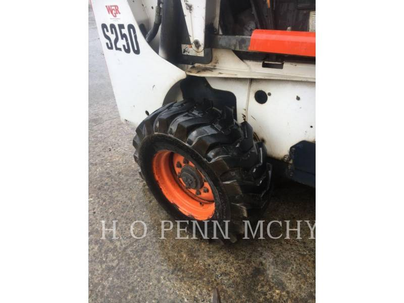 BOBCAT SKID STEER LOADERS S250 equipment  photo 9