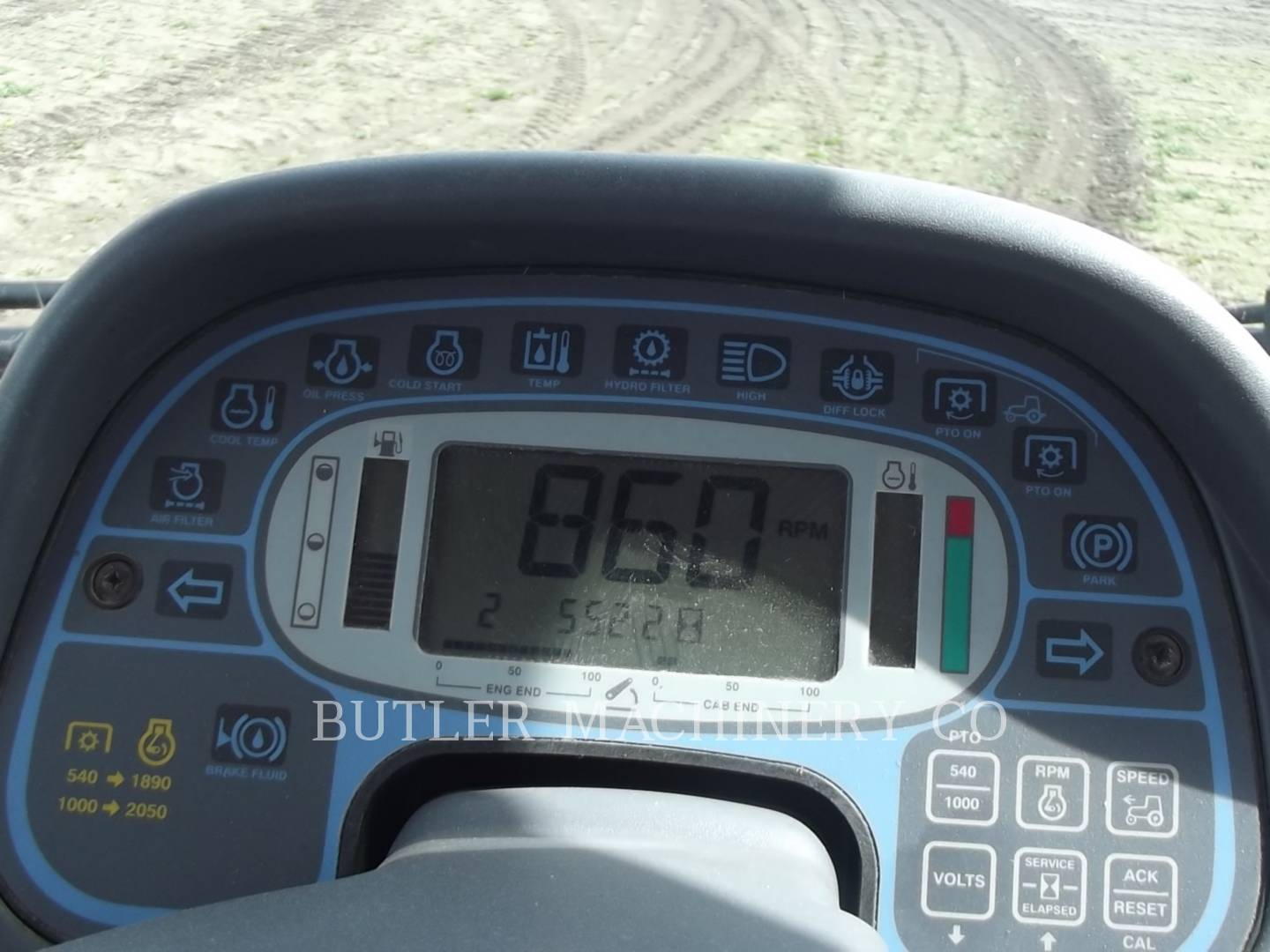 Detail photo of 2011 Ford TV6070 from Construction Equipment Guide