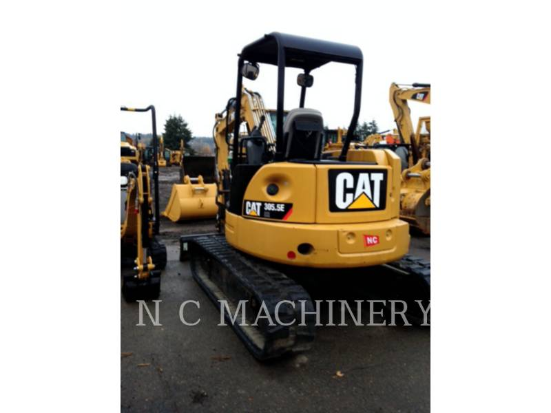 CATERPILLAR TRACK EXCAVATORS 305.5ECRCN equipment  photo 1