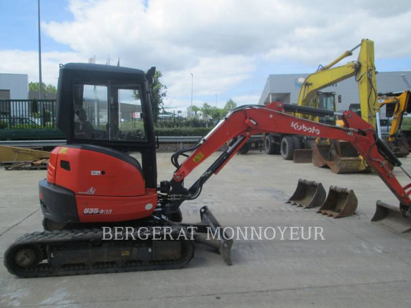 KUBOTA TRACTOR CORPORATION TRACK EXCAVATORS U35 equipment  photo 7