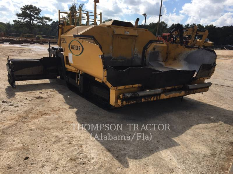 WEILER PAVIMENTADORA DE ASFALTO P 385 A equipment  photo 8