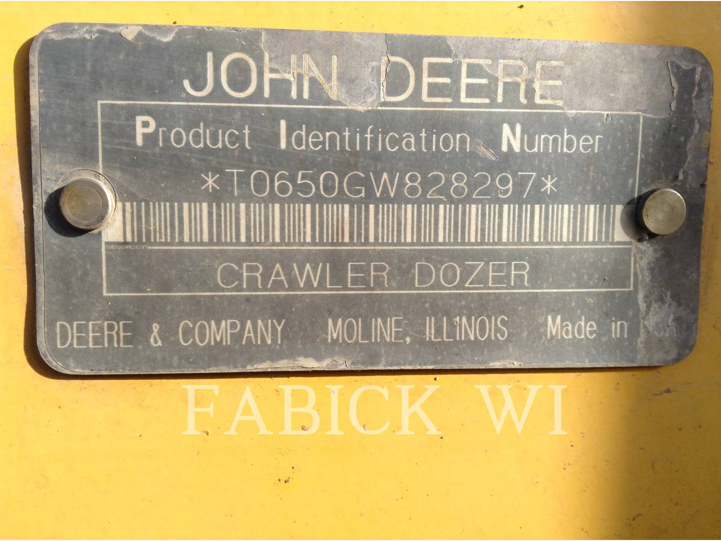 Detail photo of 1997 John Deere 650G from Construction Equipment Guide