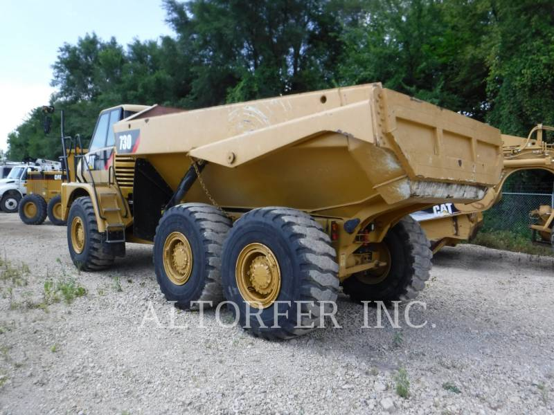 Caterpillar CAMIOANE ARTICULATE 730 equipment  photo 6