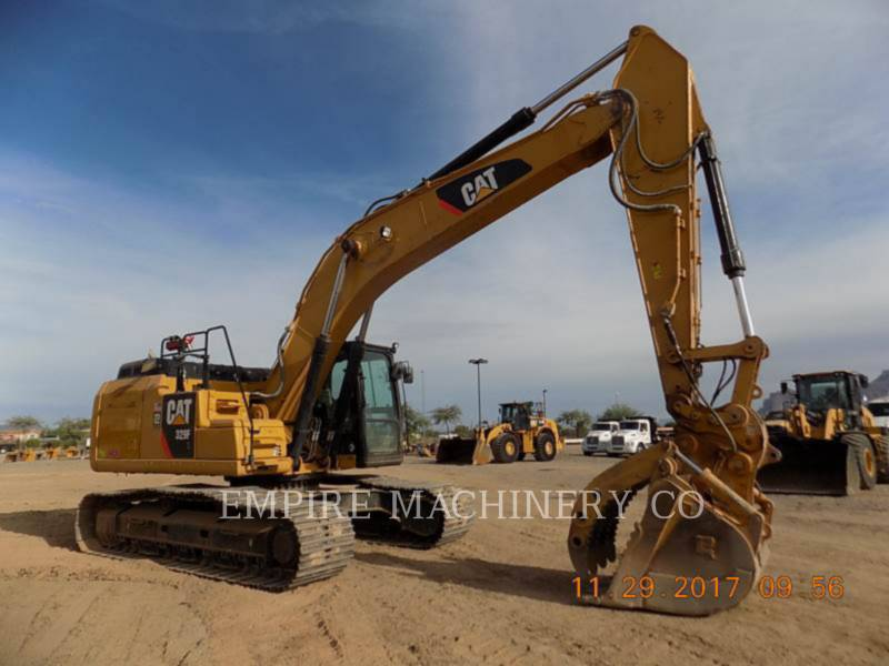 CATERPILLAR EXCAVADORAS DE CADENAS 329FL    P equipment  photo 1