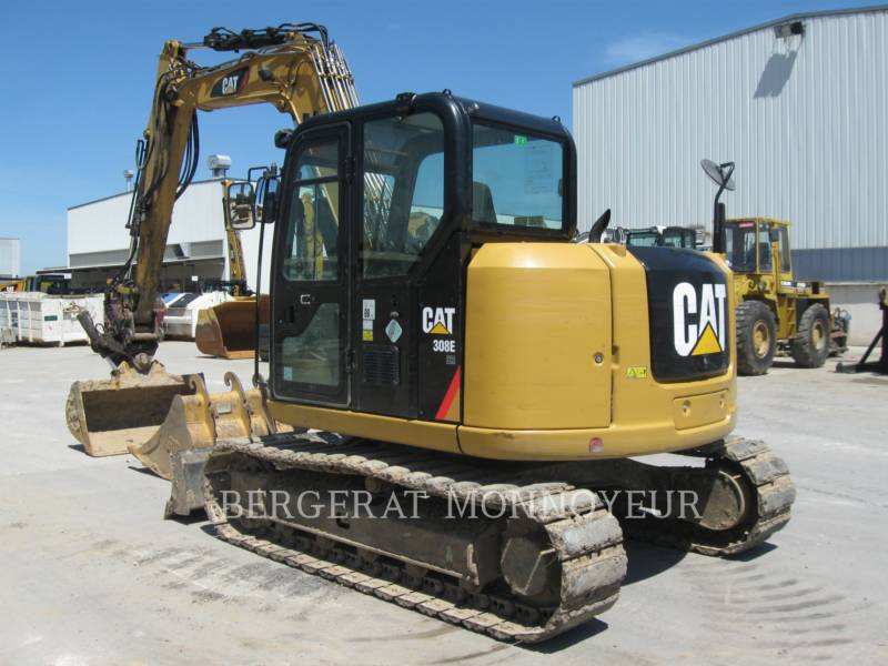 CATERPILLAR TRACK EXCAVATORS 308E CR SB equipment  photo 4