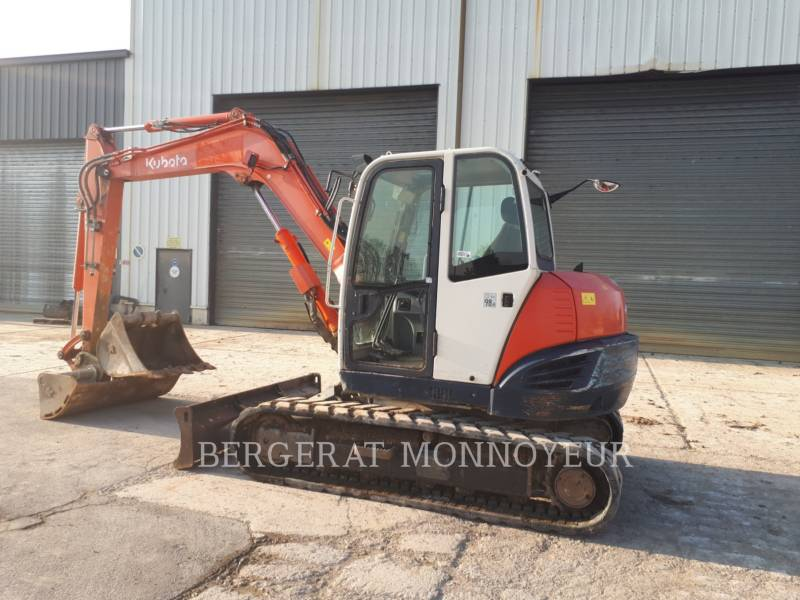 KUBOTA TRACTOR CORPORATION ESCAVATORI CINGOLATI KX080.3 equipment  photo 6