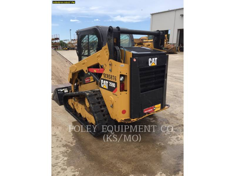 CATERPILLAR CARGADORES MULTITERRENO 259DSTD2CA equipment  photo 3