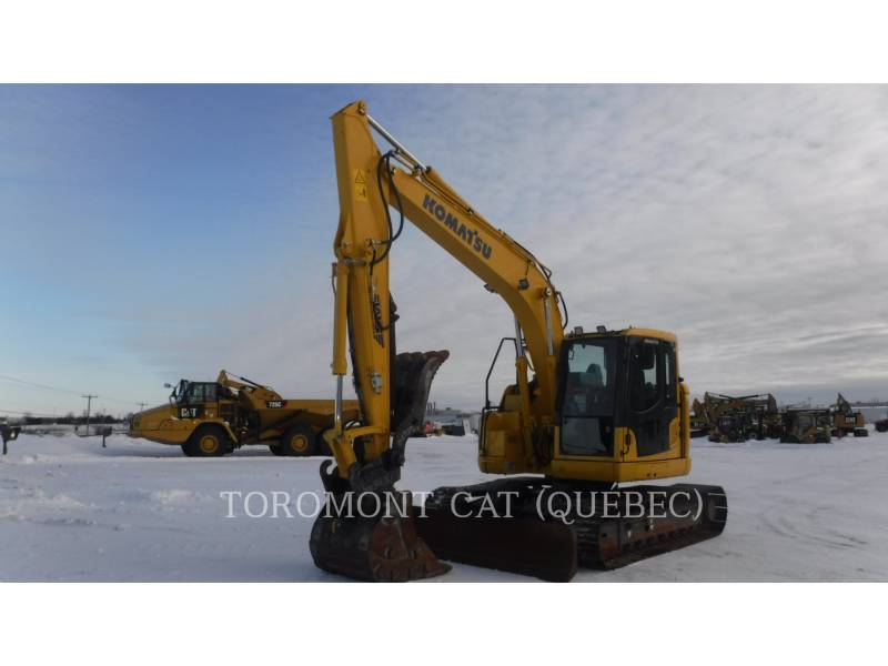 KOMATSU PELLES SUR CHAINES PC138 US LC equipment  photo 1