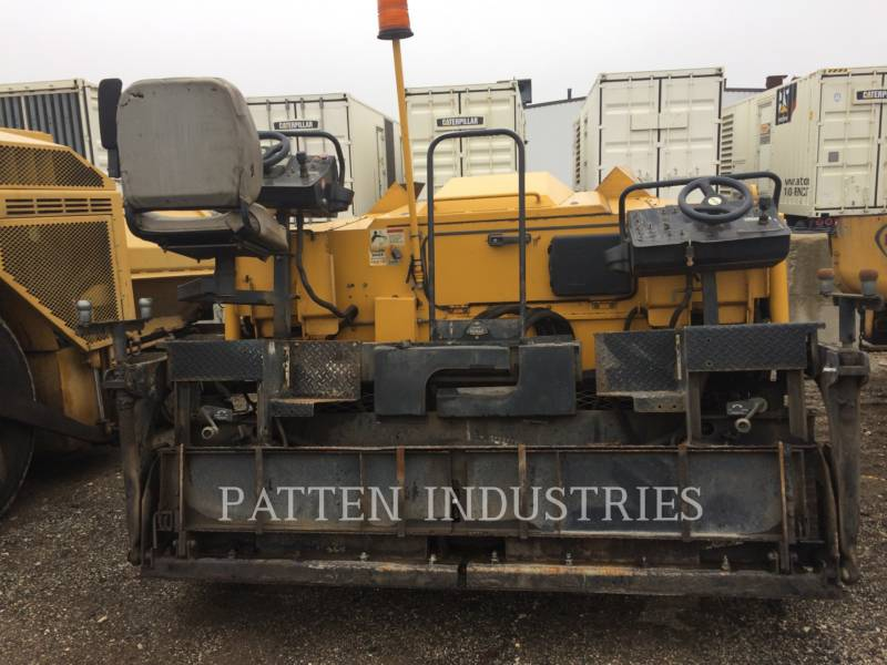 WEILER ASPHALT PAVERS P385 equipment  photo 4