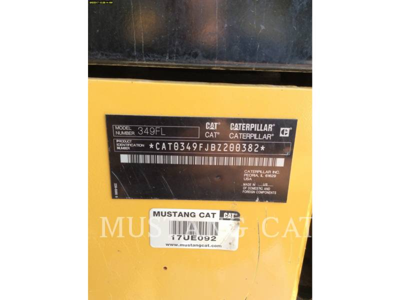 CATERPILLAR RUPSGRAAFMACHINES 349FL equipment  photo 12
