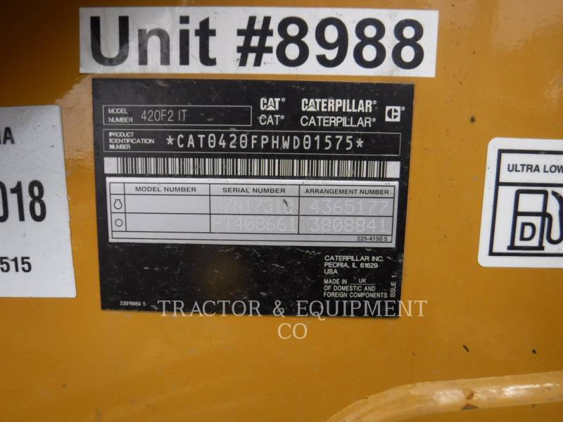 CATERPILLAR TERNE 420F24ETCB equipment  photo 2