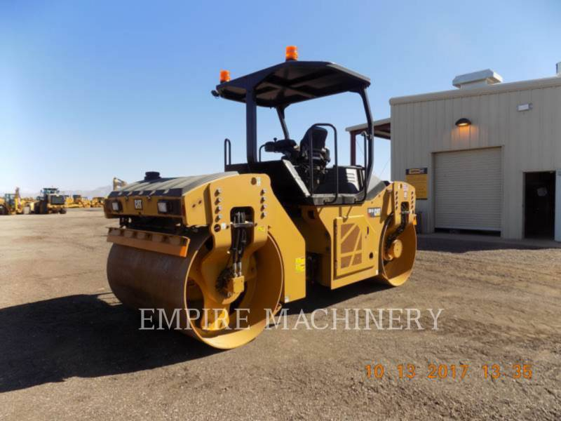 CATERPILLAR VIBRATORY DOUBLE DRUM ASPHALT CB10 equipment  photo 2