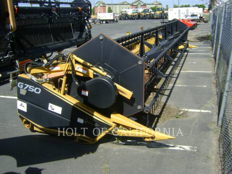 LEXION COMBINE HEADERS G750   GA12062 equipment  photo 1