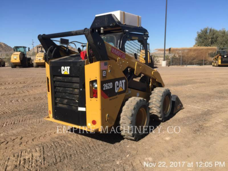 Caterpillar MINIÎNCĂRCĂTOARE RIGIDE MULTIFUNCŢIONALE 262D XPS equipment  photo 2
