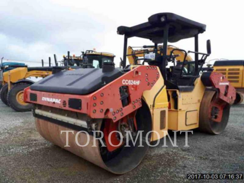 DYNAPAC COMPACTEURS CC624HF equipment  photo 2