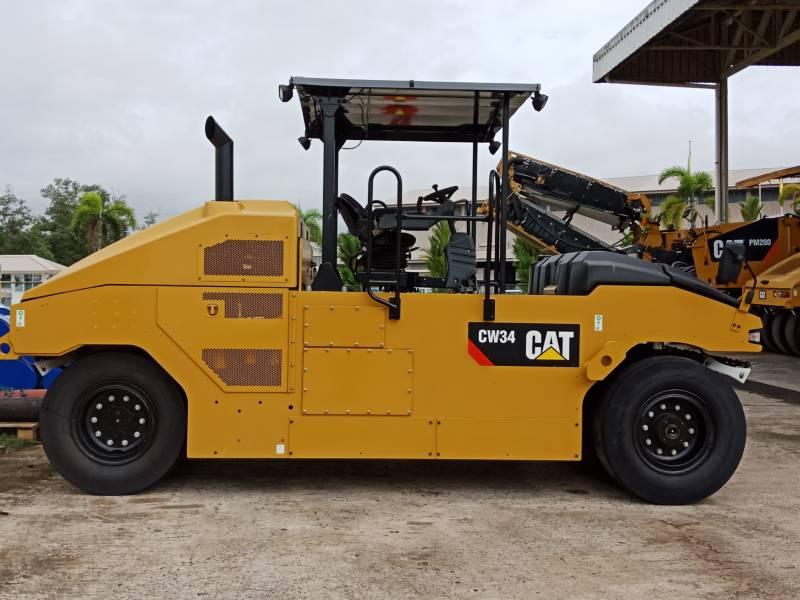 CATERPILLAR PNEUMATIC TIRED COMPACTORS CW34LRC equipment  photo 1