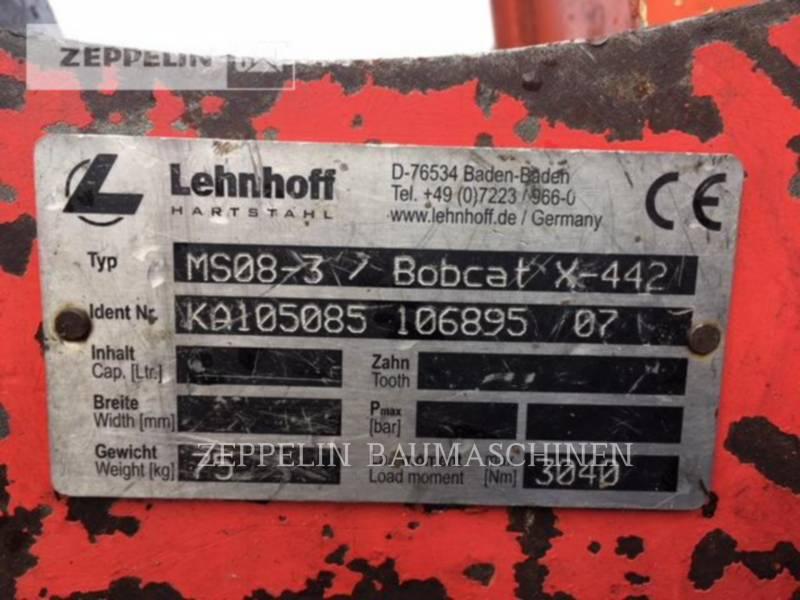 TEREX CORPORATION PELLES SUR CHAINES TC75 equipment  photo 15