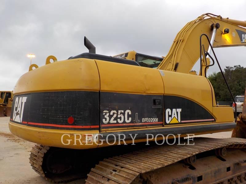 CATERPILLAR TRACK EXCAVATORS 325C L equipment  photo 4