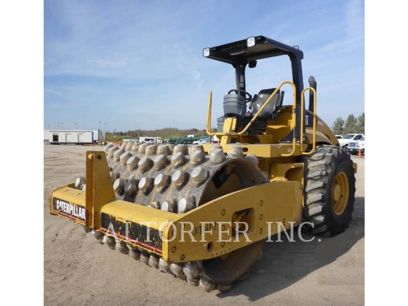 CATERPILLAR COMPACTEUR VIBRANT, MONOCYLINDRE LISSE CP563E equipment  photo 1