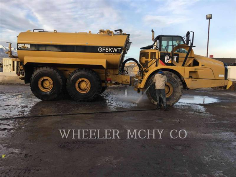 CATERPILLAR ARTICULATED TRUCKS WT 740 equipment  photo 1