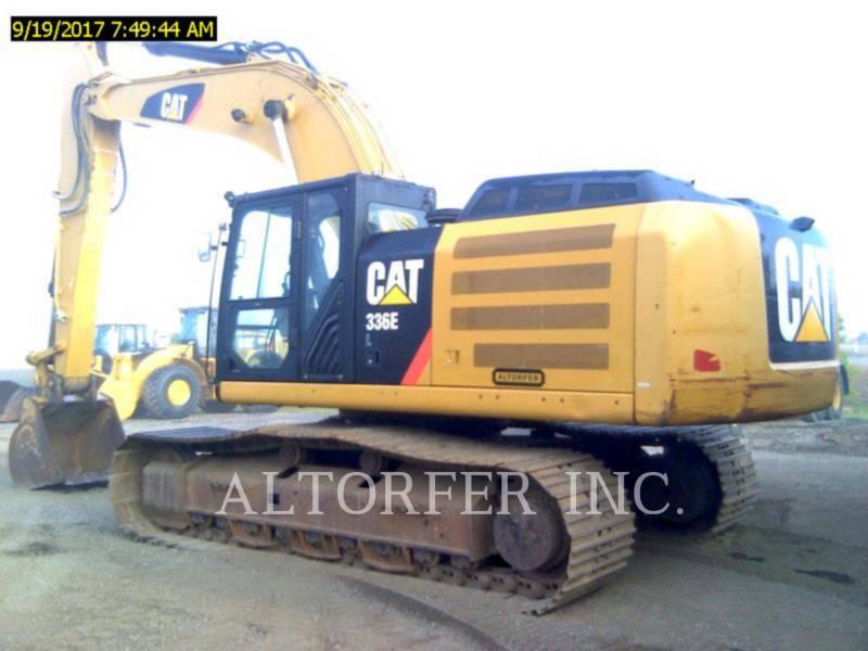 CATERPILLAR EXCAVADORAS DE CADENAS 336EL equipment  photo 1