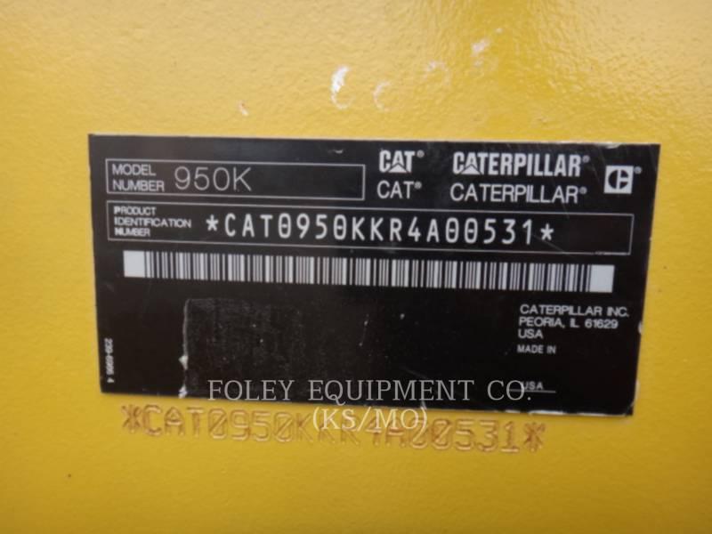 CATERPILLAR WHEEL LOADERS/INTEGRATED TOOLCARRIERS 950K equipment  photo 6