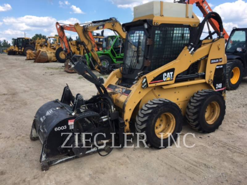 CATERPILLAR SKID STEER LOADERS 248 equipment  photo 1