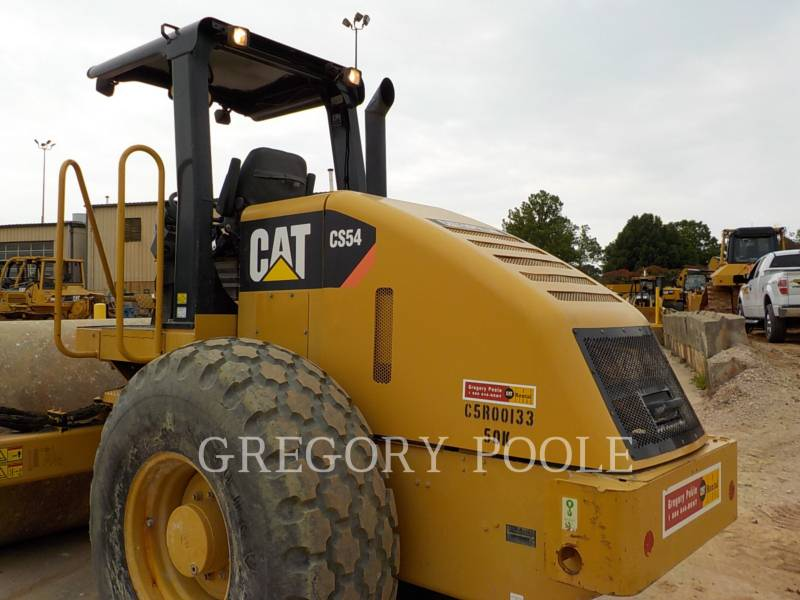 CATERPILLAR VIBRATORY SINGLE DRUM SMOOTH CS-54 equipment  photo 10