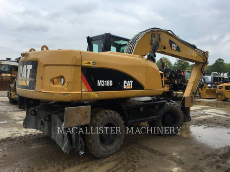 CATERPILLAR PELLES SUR PNEUS M318D equipment  photo 3