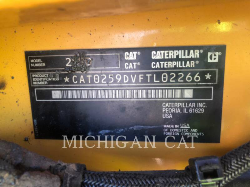 CATERPILLAR MULTI TERRAIN LOADERS 259D A2Q equipment  photo 19