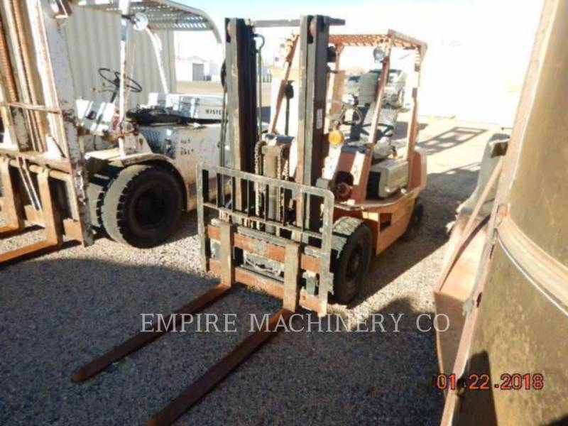 TOYOTA INDUSTRIAL EQUIPMENT LIFT - BOOM FORKLIFT equipment  photo 1