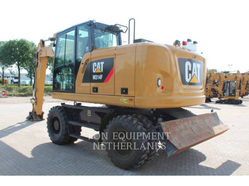CATERPILLAR ホイール油圧ショベル M 314 F equipment  photo 5
