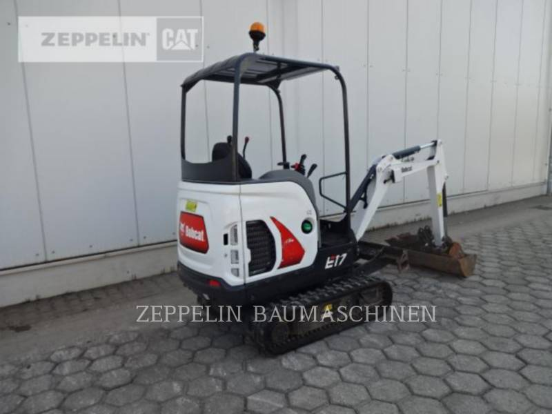 BOBCAT TRACK EXCAVATORS E17 equipment  photo 5