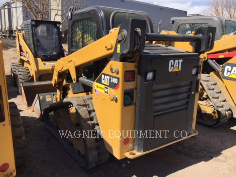 CATERPILLAR SKID STEER LOADERS 249D equipment  photo 4