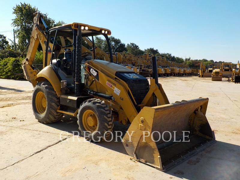CATERPILLAR BACKHOE LOADERS 420F/HAM equipment  photo 3