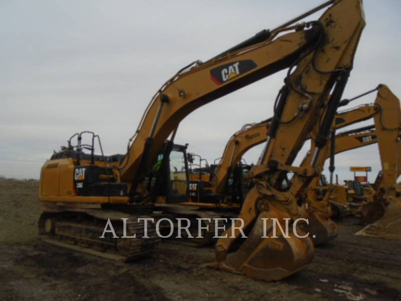 CATERPILLAR TRACK EXCAVATORS 336EL TH equipment  photo 1